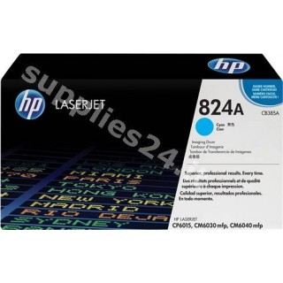 ORIGINAL HP Tamburo ciano CB385A 824A ~35000 PAGINE tamburo