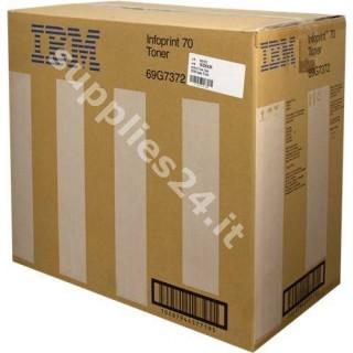 ORIGINAL IBM toner nero 69G7372 ~180000 PAGINE