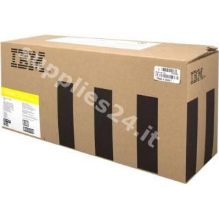 ORIGINAL IBM toner giallo 75P4058 ~15000 PAGINE