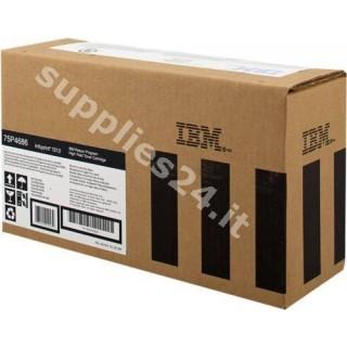 ORIGINAL IBM toner nero 75P4686 ~6000 PAGINE alta capacit�