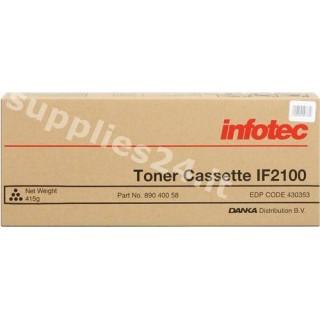 ORIGINAL Infotec toner nero 89040058
