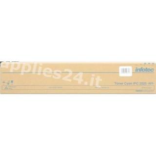 ORIGINAL Infotec toner ciano 89040134 alta capacit�