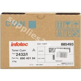 ORIGINAL Infotec toner ciano 89040194 89040194/885493