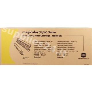 ORIGINAL Konica Minolta Tamburo giallo 1710532-002 4333513 unit� di stampa, tamburo OPC + cassetta toner