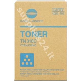 ORIGINAL Konica Minolta toner ciano 4053-703 TN310C