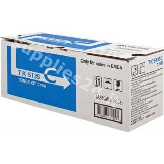 ORIGINAL Kyocera toner ciano TK-5135C 1T02PACNL0 ~5000 PAGINE