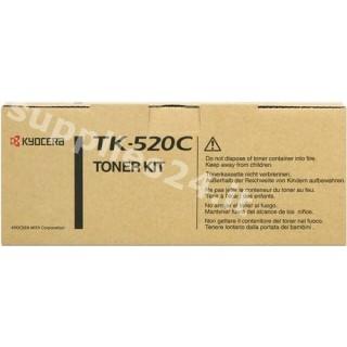 ORIGINAL Kyocera toner ciano TK-520c 1T02HJCEU0 ~4000 PAGINE
