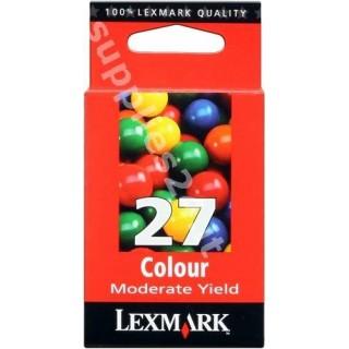 ORIGINAL Lexmark Cartuccia d'inchiostro colore 10NX227E 27 ~229 PAGINE