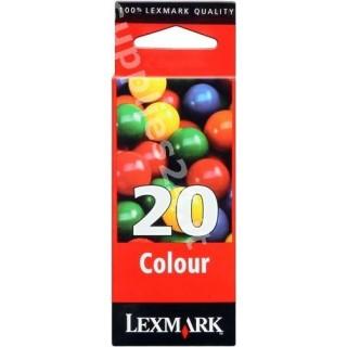 ORIGINAL Lexmark Cartuccia d'inchiostro colore 15MX120E 20 ~686 PAGINE