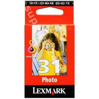 ORIGINAL Lexmark Cartuccia d'inchiostro colore 18C0031E 31 ~135 PAGINE