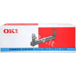 ORIGINAL OKI Tamburo ciano 41514711