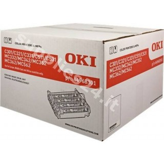 ORIGINAL OKI Tamburo bk/c/m/y 44968301 kit