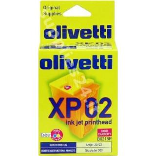 ORIGINAL Olivetti Cartuccia d'inchiostro colore B0218 XP02