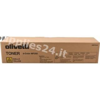 ORIGINAL Olivetti toner giallo B0728 ~19000 PAGINE