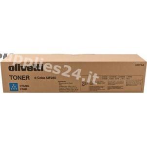 ORIGINAL Olivetti toner ciano B0730 ~19000 PAGINE