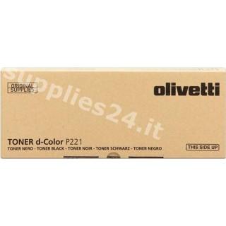 ORIGINAL Olivetti toner nero B0763