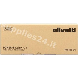 ORIGINAL Olivetti toner giallo B0764