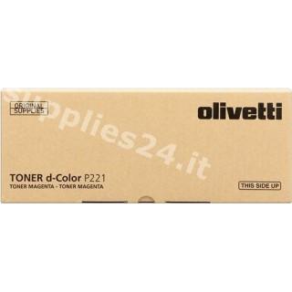 ORIGINAL Olivetti toner magenta B0765