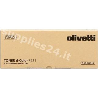 ORIGINAL Olivetti toner ciano B0766