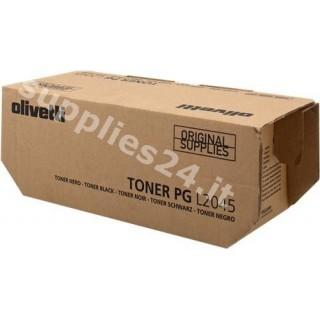 ORIGINAL Olivetti toner nero B0812 PGL2045 ~20000 PAGINE