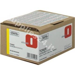 ORIGINAL Olivetti toner giallo B0923 ~2000 PAGINE