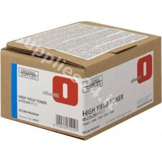 ORIGINAL Olivetti toner ciano B0925 ~4000 PAGINE