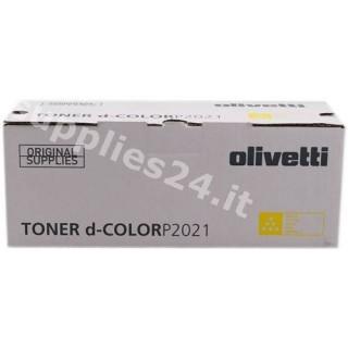ORIGINAL Olivetti toner giallo B0951 ~2800 PAGINE