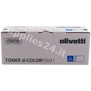 ORIGINAL Olivetti toner ciano B0953 ~2800 PAGINE