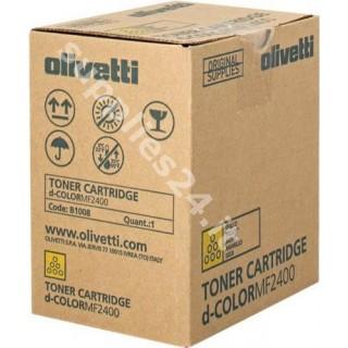 ORIGINAL Olivetti toner giallo B1008 A0X52L3 ~6000 PAGINE