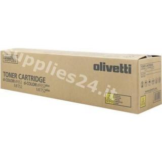 ORIGINAL Olivetti toner giallo B1016 ~31500 PAGINE