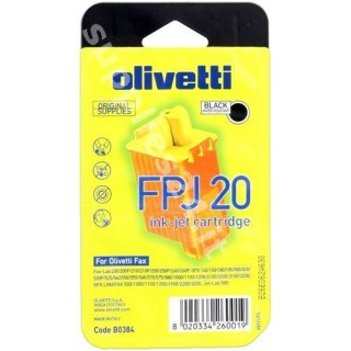 ORIGINAL Olivetti Cartuccia d'inchiostro nero FPJ 20 84431/B0384