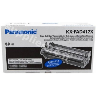 ORIGINAL Panasonic Tamburo nero KX-FAD412X ~6000 PAGINE