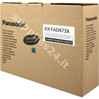 ORIGINAL Panasonic Tamburo nero KX-FAD473X ~10000 PAGINE