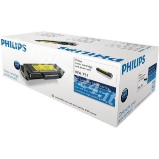 ORIGINAL Philips toner nero PFA-751 ~2000 PAGINE