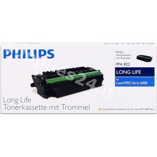 ORIGINAL Philips toner nero PFA-822 ~5500 PAGINE XXL