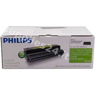 ORIGINAL Philips toner nero PFA-832 ~3000 PAGINE XL