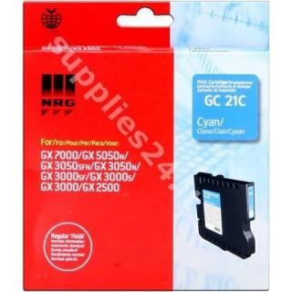 ORIGINAL Ricoh cartuccia ciano 405533 GC-21C ~1000 PAGINE capacit� normale