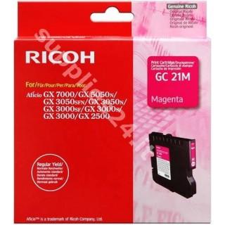 ORIGINAL Ricoh cartuccia magenta 405534 405542 / GC-21M ~1000 PAGINE capacit� normale