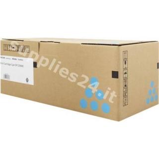 ORIGINAL Ricoh toner ciano 407637 406480 / SPC-310c ~6000 PAGINE alta capacit�