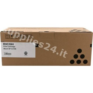 ORIGINAL Ricoh toner nero 407638 406348 / SPC-310sbk ~2500 PAGINE standard