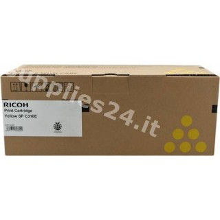 ORIGINAL Ricoh toner giallo 407639 406351 / SPC-310sy ~2500 PAGINE standard