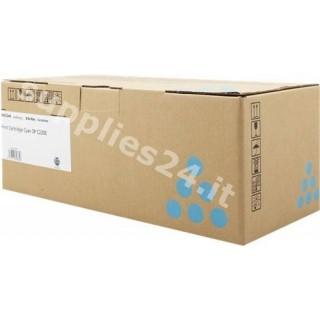 ORIGINAL Ricoh toner ciano 407645 406053 / 406097 / 406766 ~2000 PAGINE SP C220E