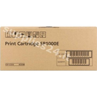 ORIGINAL Ricoh toner nero 413196 SP1000E ~4000 PAGINE