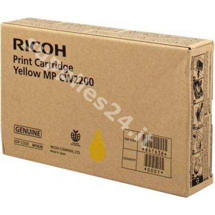 ORIGINAL Ricoh Cartuccia d'inchiostro ciano 841636 MP CW2200 100ml
