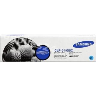 ORIGINAL Samsung toner ciano CLP-510D5C ~5000 PAGINE alta capacit�