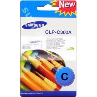 ORIGINAL Samsung toner ciano CLP-C300A ~1000 PAGINE
