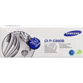 ORIGINAL Samsung toner ciano CLP-C660B ~5000 PAGINE alta capacit�