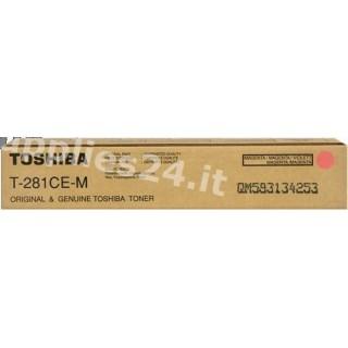 ORIGINAL Toshiba toner magenta T-281-CEM 6AK00000047 ~10000 PAGINE