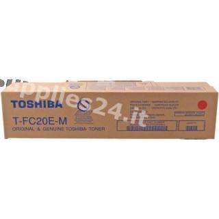 ORIGINAL Toshiba toner magenta T-FC20EM 6AJ00000068 ~16800 PAGINE