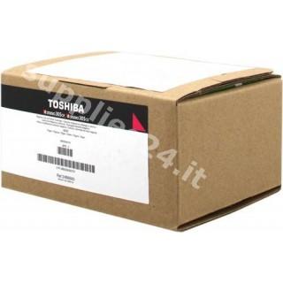 ORIGINAL Toshiba toner magenta T-FC305PM-R 6B000000751 ~3000 PAGINE cartuccia di stampa riutilizzabile